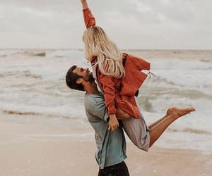 beach, Relationship, and cute image