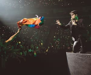 brendon urie, panic at the disco, and tour image