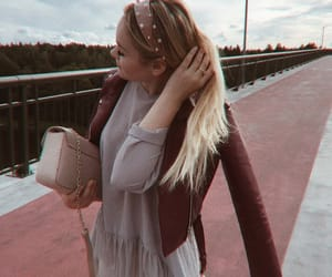 follow, hair, and outfit image