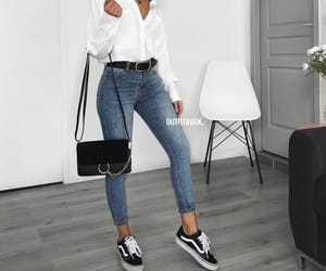 blouse, casual, and mode image
