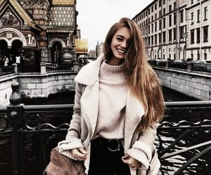 aesthetic, brunette, and city image