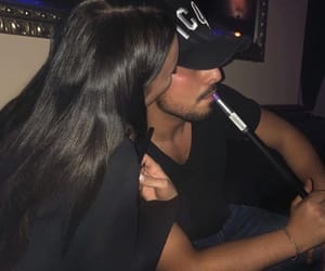 couple, goals, and shisha image