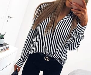 blouse, casual, and pretty image