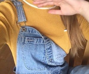 alternative, denim, and fashion image