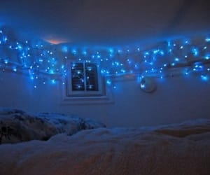 bed, blue, and fashion image