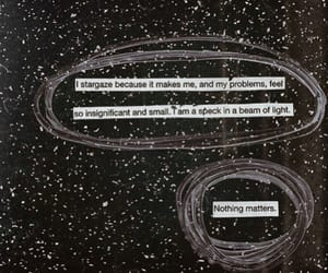 cosmos, quote, and stars image