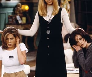 Courteney Cox, monica geller, and funny image