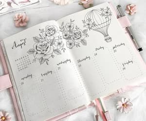 art, planner, and inspiration image
