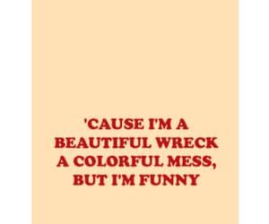 beautiful, honey, and Lyrics image