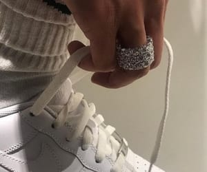 jewelry, nike, and ring image