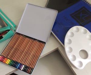 art, supplies, and arts image