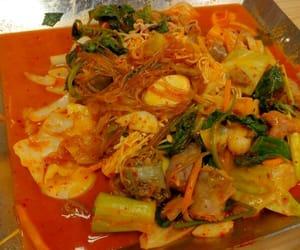kimchi, learnkorean, and spicyfood image