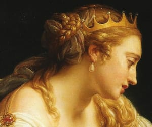 art, blonde, and crown image