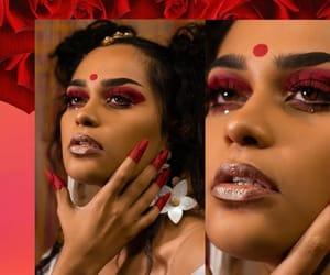 aesthetic, girls, and hindi image