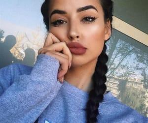 aesthetic, beautifulgirl, and cutie image