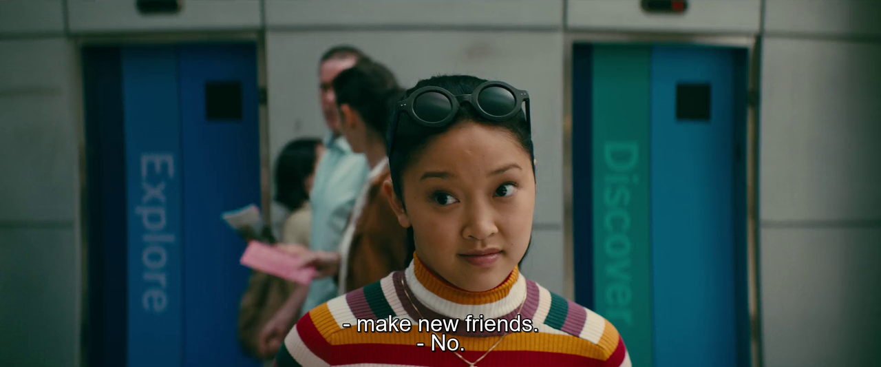 friend, to all the boys, and lana condor image