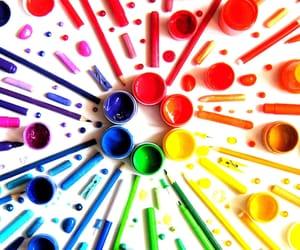 arts, beautiful, and blue image