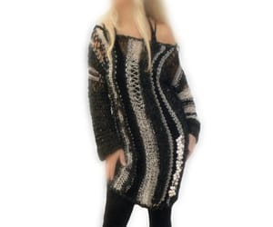 etsy, sweater dress, and loose dress image
