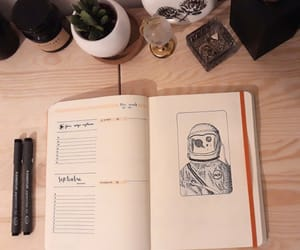 art, astronaut, and dessin image