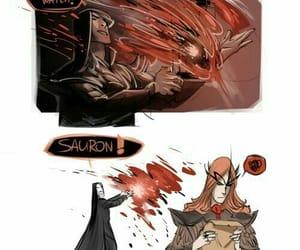 sauron, melkor, and tolkien image