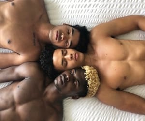 aesthetic, Tattoos, and black men image