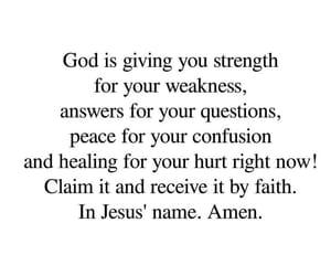 confusion, faith, and god image