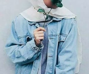 flowers, islam, and jeans image