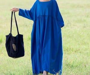 etsy, oversize dress, and floor dresses image