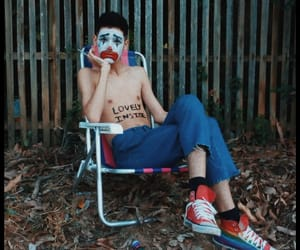 clown, sad, and tumblr image