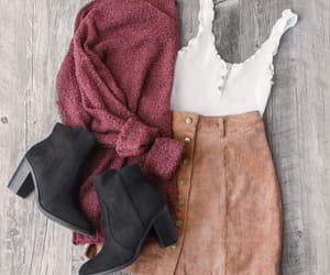 blusa, boots, and clothes image