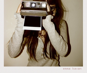 camera, girl, and outfitters image