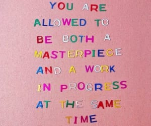 quotes, words, and masterpiece image