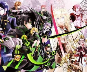 amv, shinoa, and anime image
