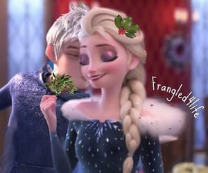 disney, jack frost, and kiss image