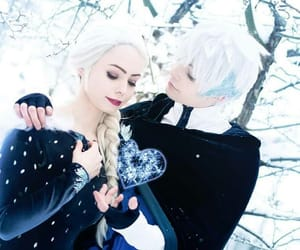 cosplay, disney, and jack frost image