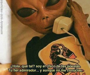 alien, frases, and tumblr image