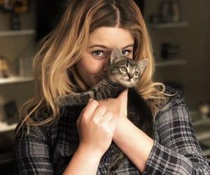 sasha pieterse, pretty little liars, and cat image