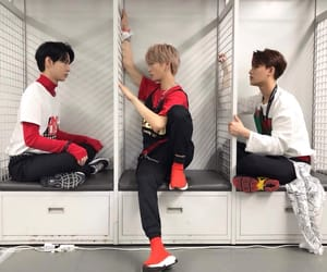 doyoung, taeil, and nct image