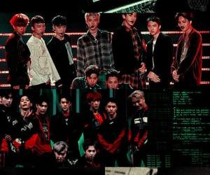 exo, kpop, and lockscreen image