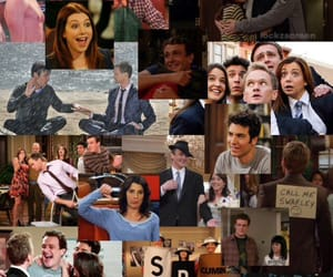 barney, how i met your mother, and lily image