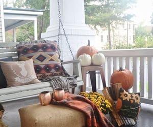 Halloween, home, and pumpkin image