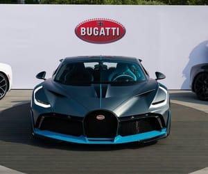 bugatti, luxury, and supercar image