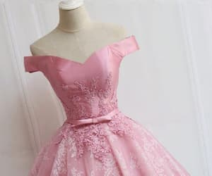 pink homecoming dress, prom dresses 2018, and prom dresses a-line image