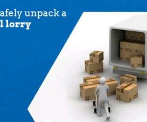 cardboard packing boxes image
