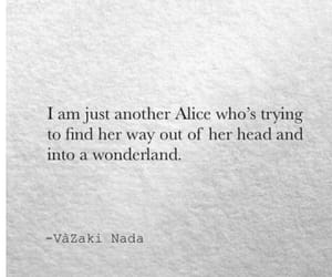 quotes and wonderland image