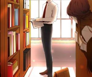 manhwa, webtoon, and romance image