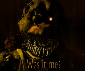horror, five nights at freddys, and fnaf image