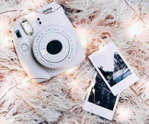 instax, take photo, and light image
