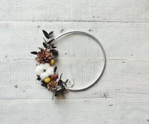 etsy, floral wreath, and rustic wreath image
