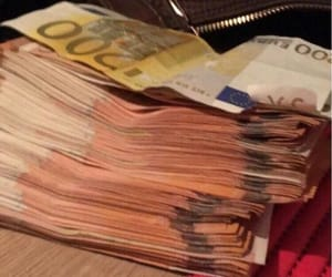 cash, money, and euros image